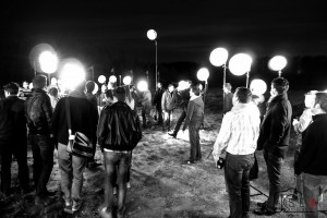 La photo de groupe aux 25 flashs déportés par Benjamin Brolet